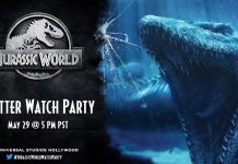 Universal Studios Hollywood Celebrates National Dinosaur Day with a JURASSIC WORLD Watch Party on Twitter on Friday, May 29 at 5:00 p.m. PST