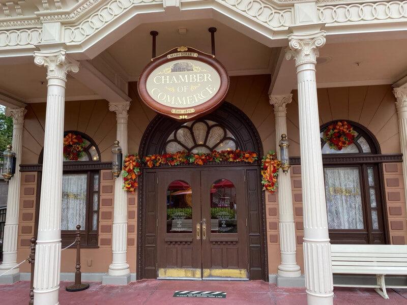 Fall Decorations Arrive At Walt Disney World Magic Kingdom