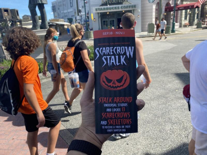 Universal Studios Florida Halloween Scavenger Hunt