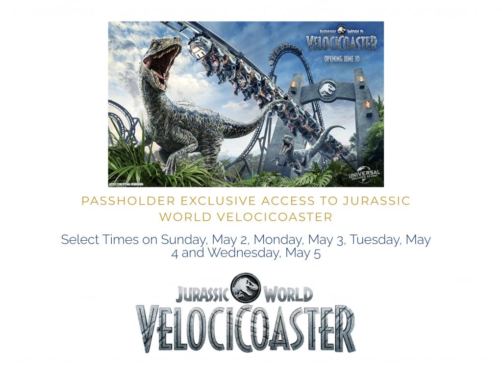 Universal Orlando VelociCoaster Annual Pass Preview Website